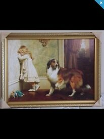 Lassie picture and girl for sale