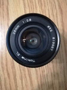 Tokina EL 28mm f28 + adapter for Sony E >>>>>More manual 28 lens
