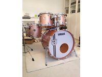 Yamaha Maple Custom 30th Anniversary Drum Kit Pink Champagne Sparkle