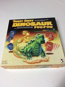 Dizzy dizzy dinosaur board game from 1987 - 100% complete