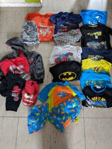 Lot de vêtements garçon 4-5 ans