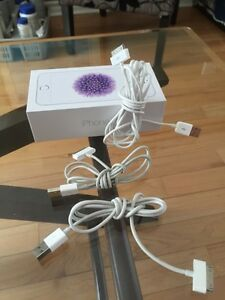 3 x Apple iPhone/iPad USB Charging Sync Data Cables's