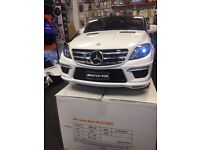 Mercedes ML63 12v Black Or White Available Parental Remote Control Self Drive