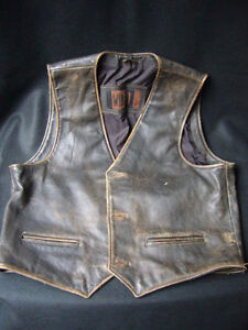 Looking for vintage Harley leather vest and coats  Any Condition