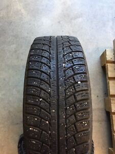 215 60 R16  four winter tires on rims off Kia Soul
