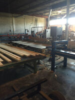 Industrial Wood Processing Machinery