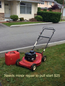 Gas Lawnmover