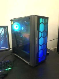 Custom built gaming pc full set up i7/16gb rx480 8gb 120gb SSD/1TB HDD