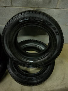 NEW **GOOD YEAR** 185/65/14 WINTER TIRES (2 TIRES)