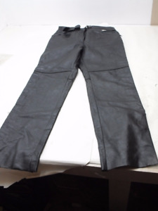 Used Women's size 16 Joe Rocket leather riding pants / chaps