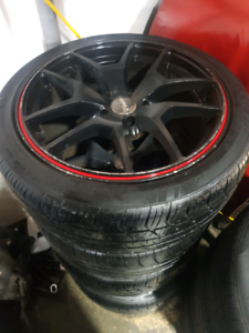 "4X235/40R18"" Mitsubishi Lancer Wheels ,,,, Rims and tyres"