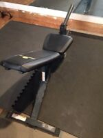 Axis incline/decline bench