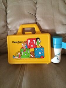 Vintage Fisher Price lunch box (boîte à lunch) West Island Greater Montréal image 1