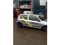 RENAULT CLIO 172 TRACK CAR