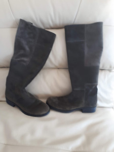 Suede Boots Size 7.5