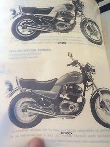 1983 Suzuki Factory GR650 Service Manual Regina Regina Area image 2
