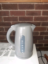Grey kettle .