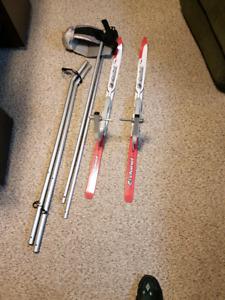 Chariot Ski Attachment
