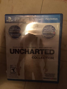 Uncharted: the Nathan Drake Collection Playstation 4 game