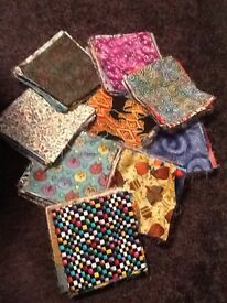 Fabric squares for patchwork