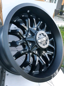 "NEW 18"" 6X139.7 6X135 MICKY THOMPSON RIMS"