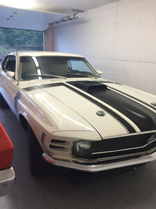 1970 ford mustang 302 boss fastback clone