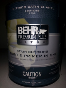 BEHR Interior and exterior paint