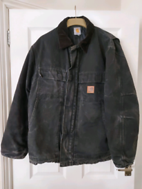 Carhartt Black Mens Jacket / Coat size L