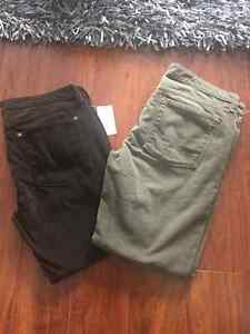 Vince cords size 32 brand new w/tags!
