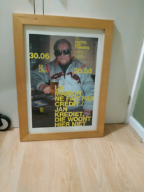Solid wood large A2 picture frame