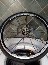 "26""front alloy bike wheel disc type"