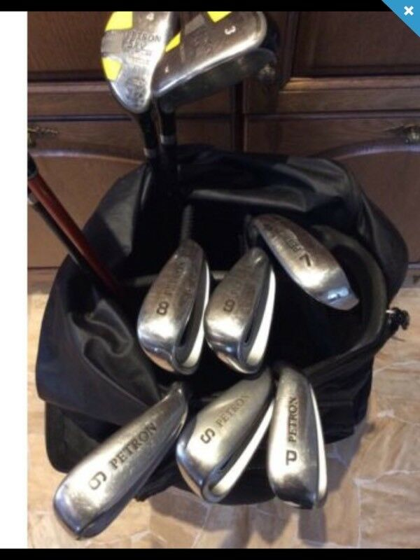 Golf clubs and Callaway bag (can deliver)