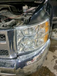 2012 chevy Silverado headlights and taillights