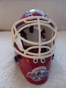 COLORADO AVALANCHE-Riddell-Replica Goalie Mask.