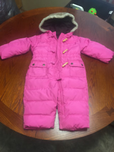 Baby GAP Snowsuit   size 12 to 18 mo