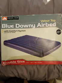 Blue Downy Airbed