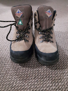 Safety work-boots size 8
