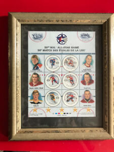 Canada Post NHL 50th All-Star Stamp Collection