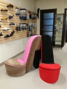 3 High Heel Shoe Chair