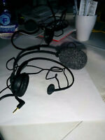 TWO Corded Telephone Headsets EXCELLENT Condition