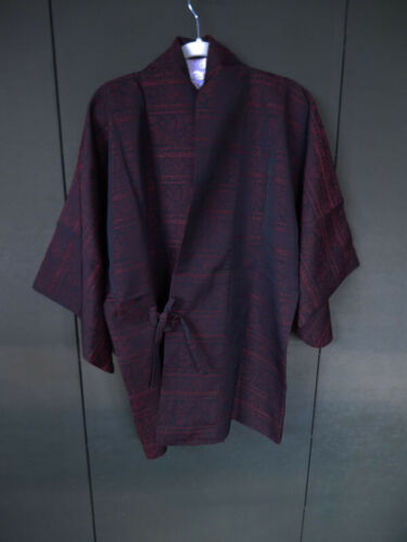 #3 Vintage Japanese Haori, Tie Front Closure, Jacket, Michyuki, Kimono