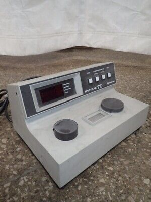 Milton Roy Spectronic 21d Spectrophotometer Laboratory Unit Digital Rh213