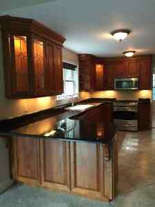 Beautiful Solid Wood Kitchen Cabinets