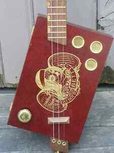 Cigar Box Guitars Kitchener / Waterloo Kitchener Area image 4
