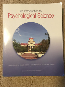 Introduction to psychological Science Textbook UofM edition