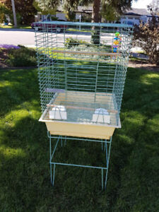 Cockatiel Cage c/w stand
