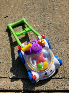 Fisher price laugh and learn ball popper mower