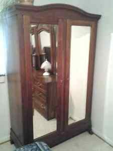 Antique Wooden Wardrobe closet