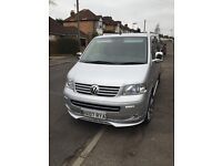 VW TRANSPORTER SHUTTLE MINI BUS T5 2.5 130 TDI SWB Metallic silver , 2007