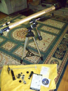 Tasco 900x60mm Luminova Refractor Telescope